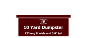 10 Cubic Yard Dumpsters