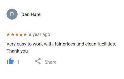 Verified Google Reviews – Hook-N-Haul Dumpsters